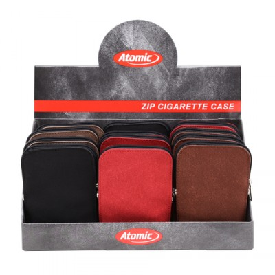 AT-Cigarette Bag Zip Alcantara